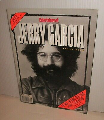 Grateful Dead Jerry Garcia Death Entertainment Weekly Magazine Cover 9/11/95