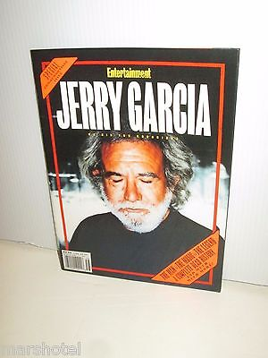 Grateful Dead Jerry Garcia Death Entertainment Weekly Magazine Bid You Goodnight