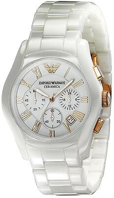 Emporio Armani® watch AR1417 Ladie`s White Ceramica