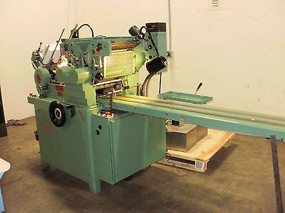 REBUILT 2 color HALM JET Envelope Press two color model JP-TWOD-P