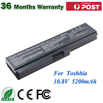 Laptop Battery For Toshiba Satellite C645D C650 C655 C660 C665 C670 PA3817U-1BRS