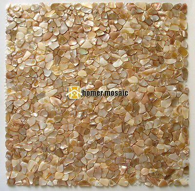 luxury symphony small baroque mother of pearl shell mosaic tile backsplash