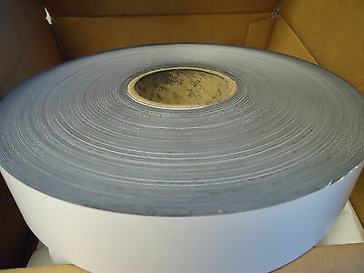 "2"" x .30"" x 200' Flexible Magnetic Strip White"