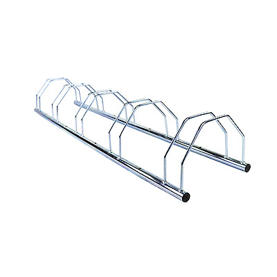 NEW! 5 Five Slot Metal Heavy Duty Bike Stand Bicycle Storage Rack