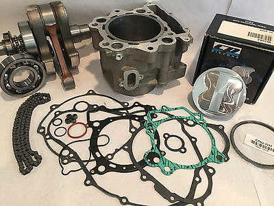 Rhino Grizzly 660 Motor Engine Rebuild Repair Parts 719 cc Big Bore Stroker Kit