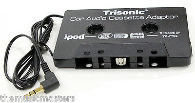 Audio Cassette Tape Adapter Transmitter 3.5mm Aux Cable Cord for MP3 iPod CD etc