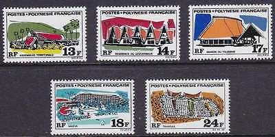 French Polynesia #253-7 Mint Never Hinged 1969 Set Of 5 Cv$35.25 Hj69