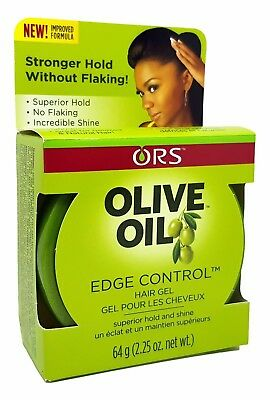 Organic Root ORS Olive Oil EDGE Control Hair Gel Superior Hold New Improved