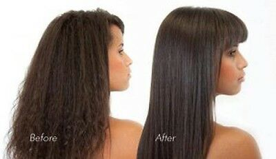 Afro Hair Brazilian Keratin Blow Dry Treatment Kit w/ Shampoo +Conditioner 500ml