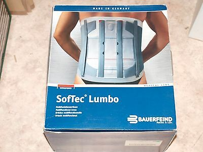 BAUERFEIND SofTec Lumbo  Multifunktionsorthese Gr. 3  links  titan      (AH0705