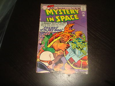 MYSTERY IN SPACE #109 Silver Age DC Comics 1966 G Low Grade