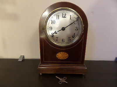 Fully Restored Vintage Gilbert Mantel Clock 121 Photo Record Of Work & Write Up