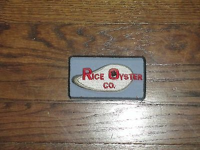 oyster company patch, new old stock, 1960's