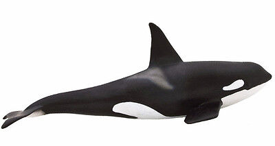FREE SHIPPING | Mojo Fun 387114 Orca Killer Whale Sealife Model - New in package