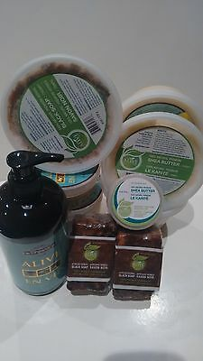 100% Raw Shea Butter and African Black Soap from Ghana