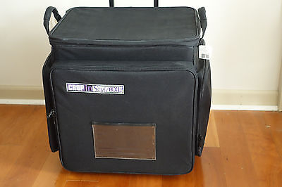 Crop In Style XXL Rolling Scrapbooking Case Tote Black