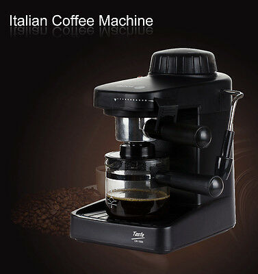 220V Espresso Machine Coffee Maker Cappuccino Latte Expresso Steam