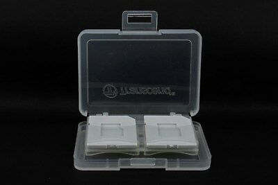 Transcend 8 SD / microSD Memory Card Storage Carrying Case