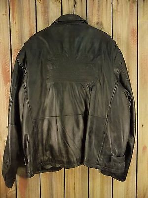 Ford Professional Technician Society Leather Jacket Powerstroke Diesel Men's 3XL