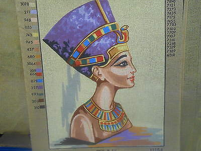 """Collection D'Art """"Queen Nefertiti"""" Printed Tapestry Canvas"""