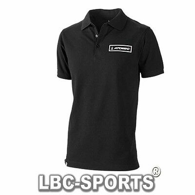 Rarität !! Atomic Core Polo Shirt Schwarz 2015 Limited Edition Black Grösse S