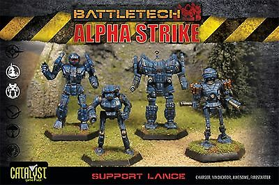 BattleTech Support Lance Pack (4 Modelle) | EN