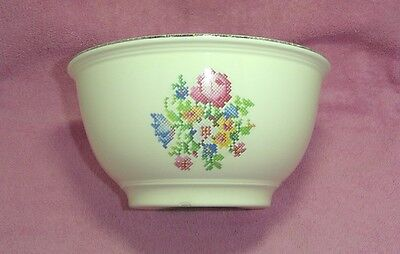 Kitchen Kraft Ovenserve USA Petti Point Floral Round Mixing Serving Bowl