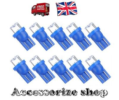 10X T10 W5W 501 194 LED Car Sidelight / Interior Number Plate Light Bulb Colour