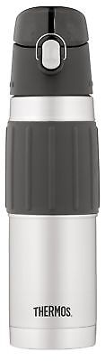Thermos Vacuum Insulated 18 Ounce Stainless Steel Hydration Bottle Stainless ...