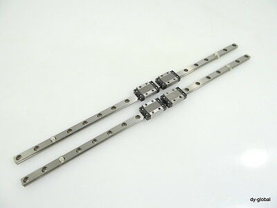 RSR9KM2UU+350mm THK Used LM Guide / Miniature Linear Bearing / NSK CNC Route