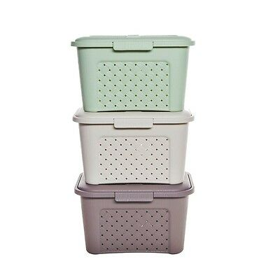 Sewing Box Basket Plastic