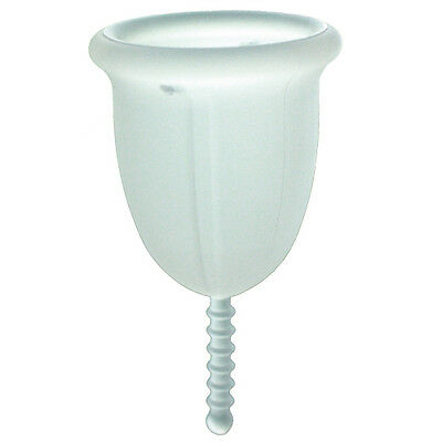 Si-Bell Silicone Reusable Economic Menstrual Cup - Clear