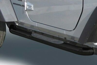Nerfbar with step pads black Jeep Wrangler TJ (96-06) Running Boards body armor