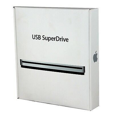 Genuine Apple USB SuperDrive MD564LL/A DVD/Disc Drive A1379 VG Official - In Box