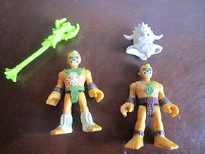 Fisher Price Imaginext NEW Ultra T-Rex Dinosaur Replacement Parts People Men 2