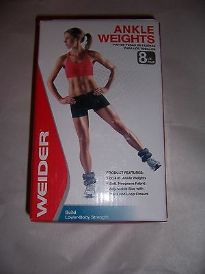 Weider 8Lb Pair Of Two 4Lb Ankle Weights New!