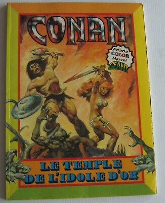 Conan Le Temple De L'idole D'or Artima Color Marvel 1980 Etat Neuf