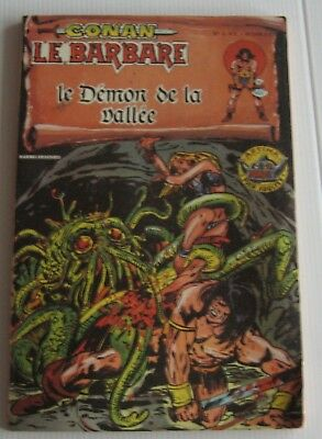 Conan Le Barbare Le Demon De La Vallee  Artima Color Marvel 1979 Tbe