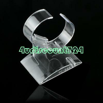 Clear Plastic Watch Bracelet Display Showcase Holder Rack Retail Store Stand
