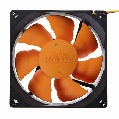 8CM Ultra Quiet Silent Cooling Fan 80mm 25mm DC 12V for PC Computer Chassis Case