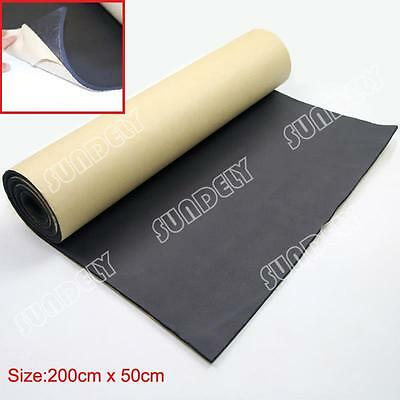 1Roll Self Adhesive Closed Cell Foam 5mm Car Sound Proofing Insulation