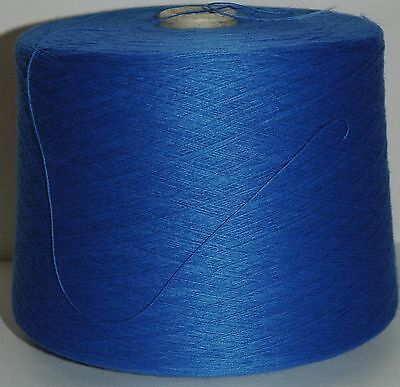 Knitting Machine Yarn Top Quality 3/30s 1.5 Kilos Acrylic Saxe Blue IND20.07