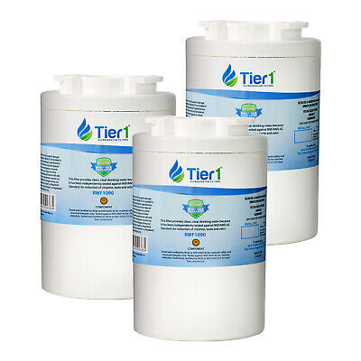 Fits Amana 12527304 WF401 Comparable Refrigerator Water Filter 3 Pack