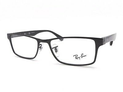 New Ray Ban RB 6238 2509 Black RX New Authentic Frames