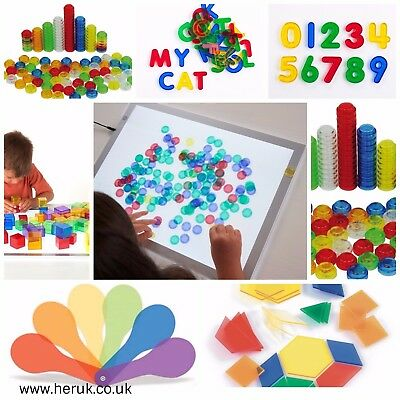 light table box sensory accessories: SEN Special Needs, Autism numbers alphabet