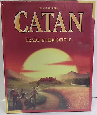 Catan boardgame 5th edition, Settlers of Catan, New. Sealed