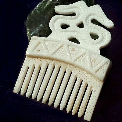 Knochen Kamm Slavisch Wikinger Comb bone Carved VIKING Slavic russian