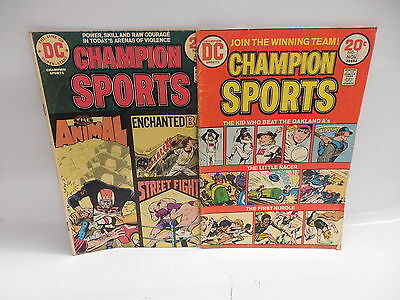 Champion Sports DC Comic Books 1 2 MLB Oakland A's Baseball Story
