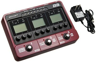 ZOOM Bass effects amp simulator B3 from japan