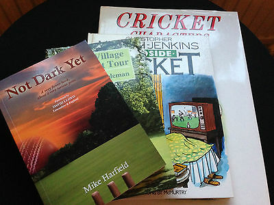 Four Vintage Cricket Books